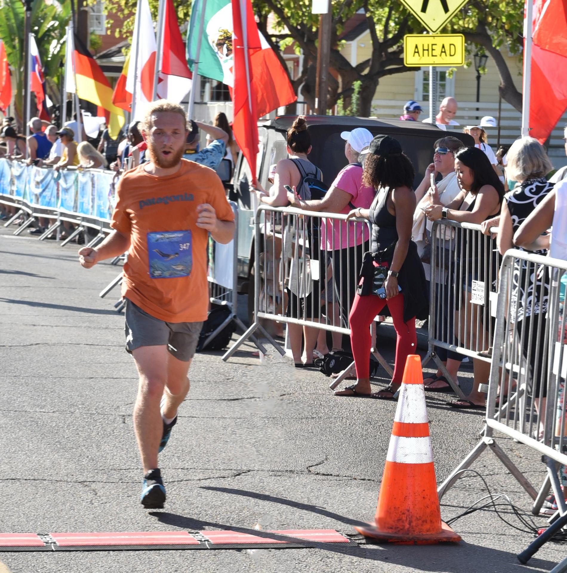 Cameron Sluggett's First Marathon